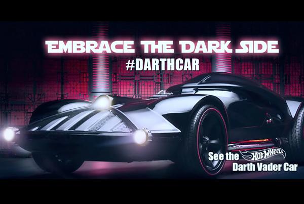 Hot Wheels: Darth Vader Car