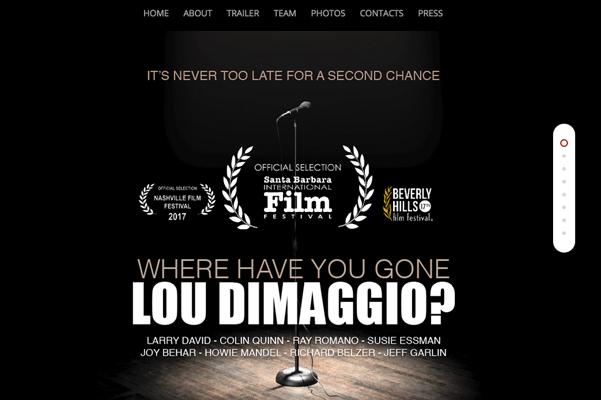 Documentary micro-site