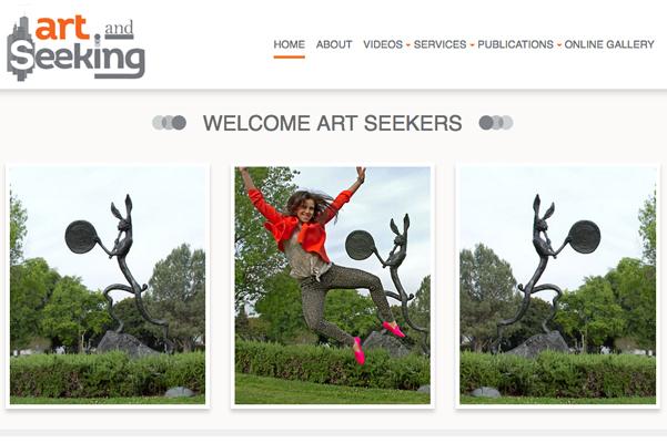 Art & Seeking Website